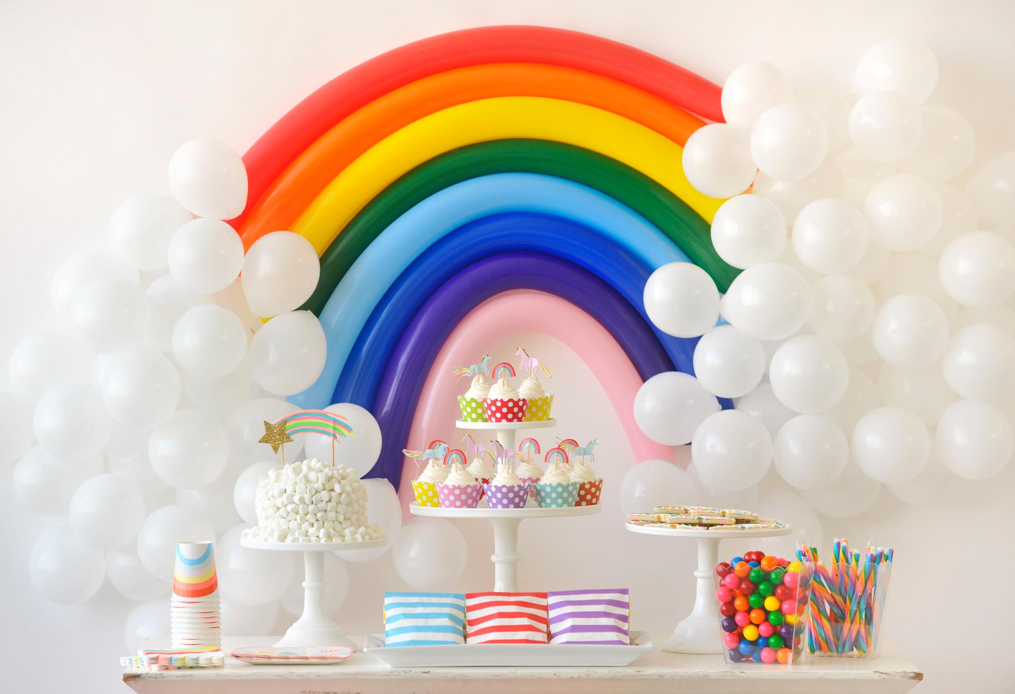 Over the rainbow birthday party for kids project nursery for 21st birthday decoration packages