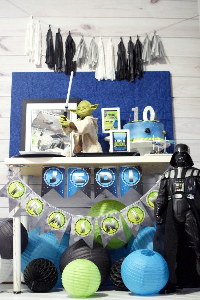 Star Wars Themed Kids Birthday Party - Project Nursery