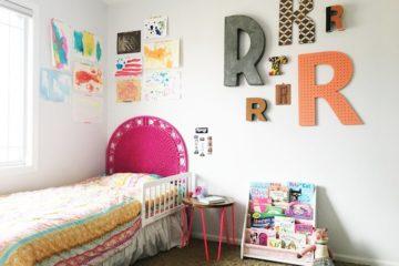 Colorful Big Girl Bedroom