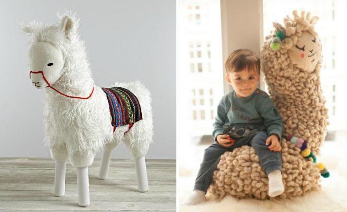 Llama Nursery Decor Trend