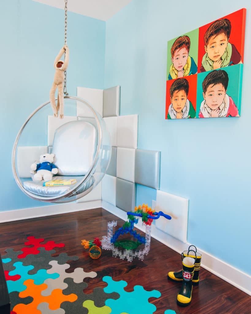 Modern Boy's Room