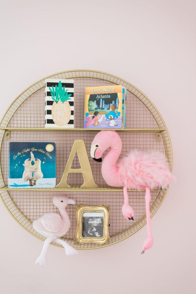 Flamingo Inspired Nursery Project Nursery