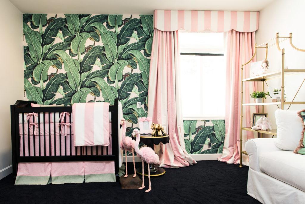 Beverly Hills Hotel Inspired Nursery - Project Nursery