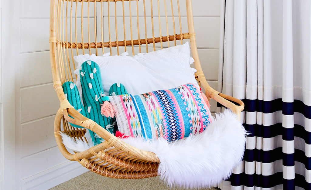 Trendspotting: Hanging Chairs Are Swinging Into Kids Design!   Project  Nursery