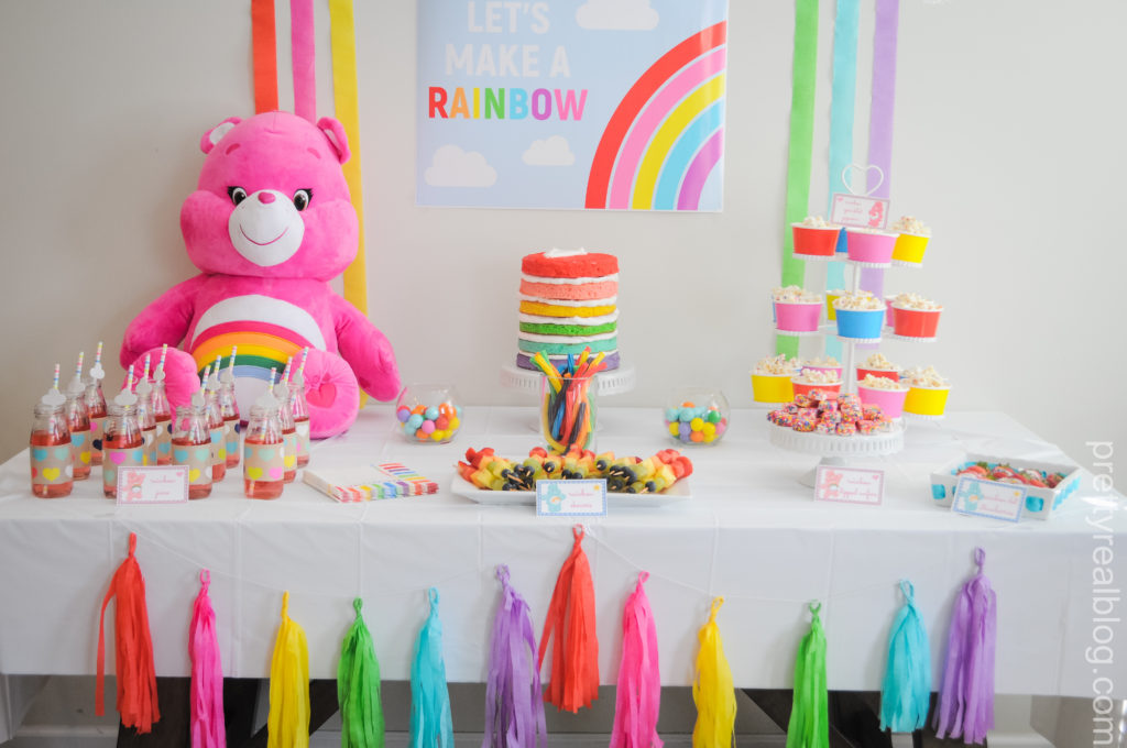 Readers Favorite Genevieves Lets Make A Rainbow Care Bears Party