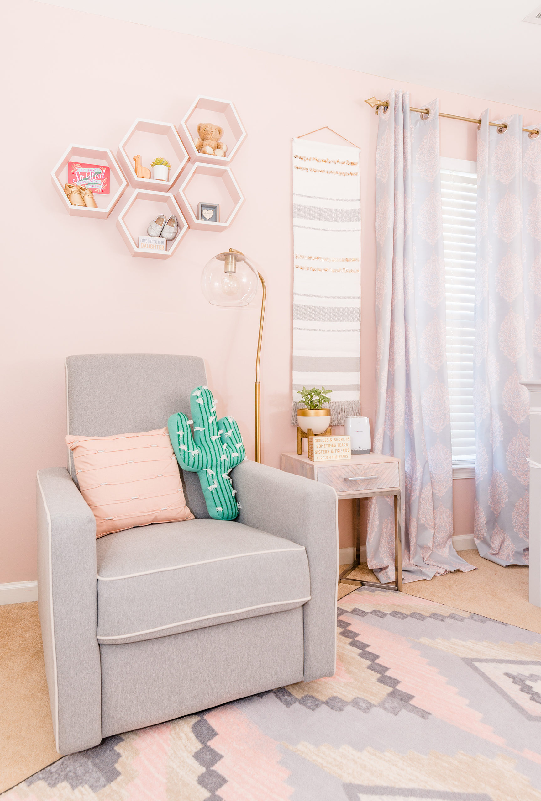 Southwestern-Inspired Girl's Nursery - Project Nursery