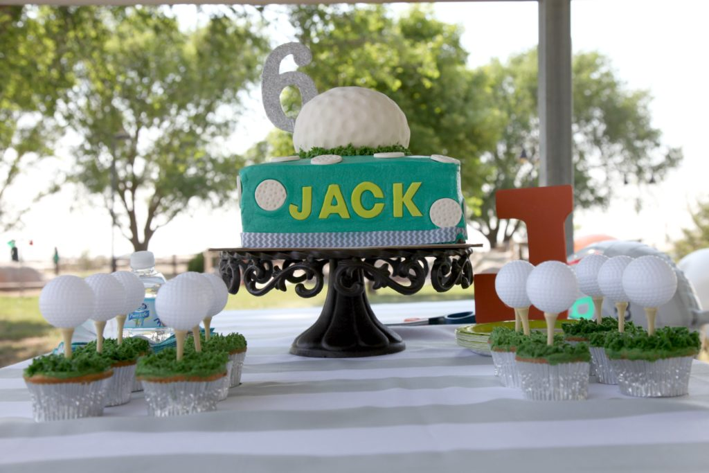 Golf Themed Birthday Party - Project Nursery
