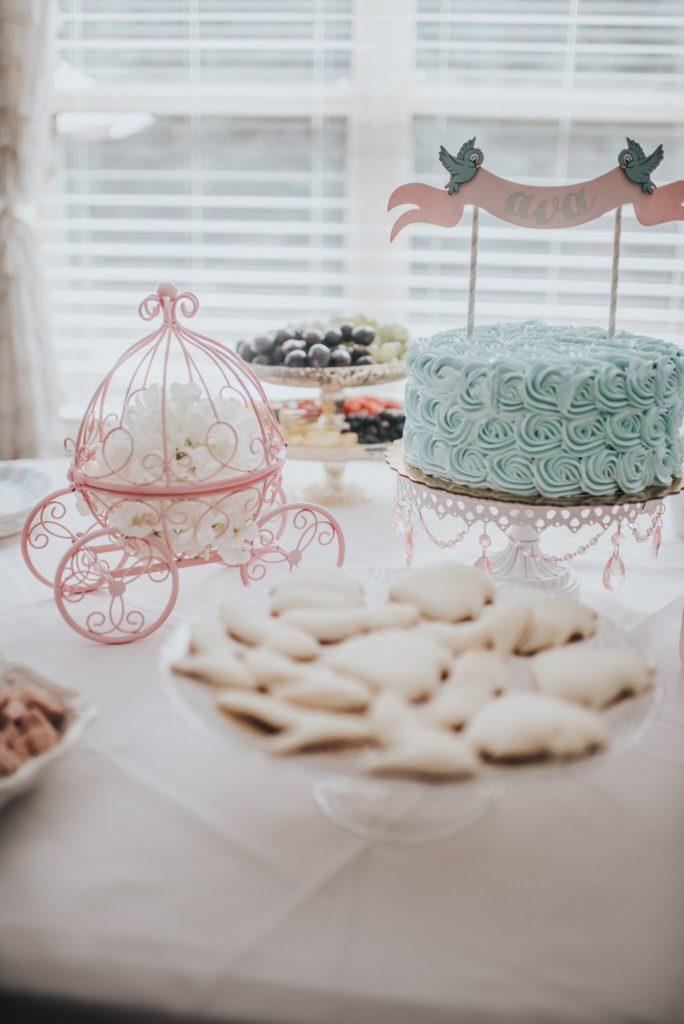 Ava S Cinderella 3rd Birthday Project Nursery