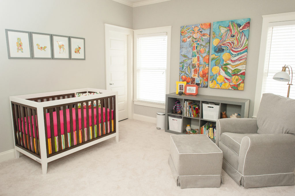 Eclectic Animals Nursery