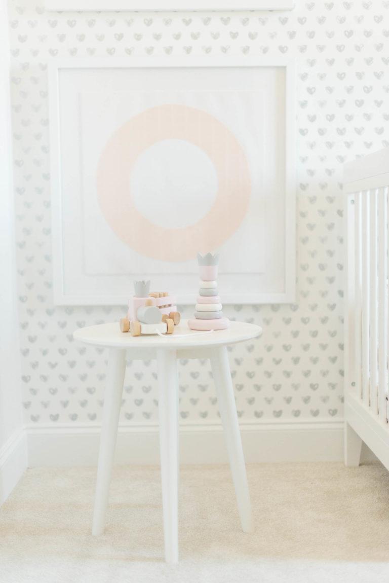 Pink and Gray XO Nursery - Project Nursery