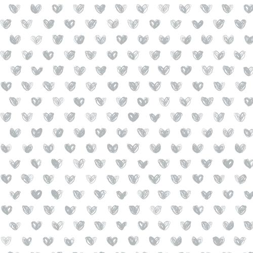Heart Wallpaper - The Project Nursery Shop
