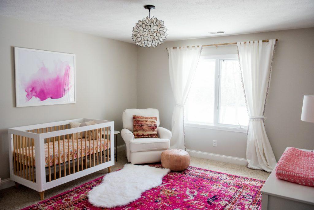 Punch of Pink Nursery - Project Nursery