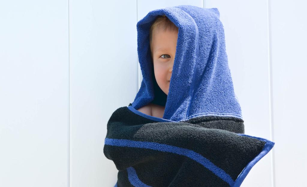 A Diy Hooded Towel That Your Kiddo Won T Immediately