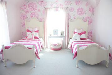 Floral Flamingo Bedroom