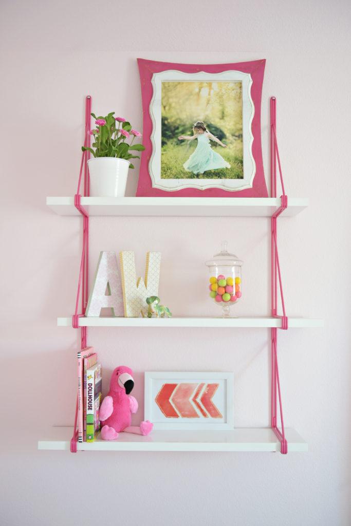 Flamingo 2 Bedroom Suite: Floral Flamingo Bedroom