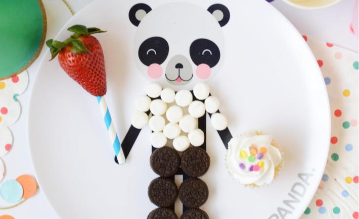 Dressable Panda Plate