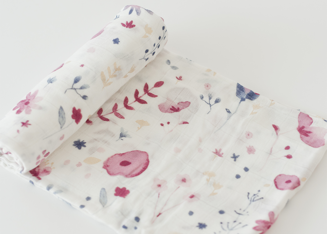 Floral Swaddle - The Project Nursery Shop