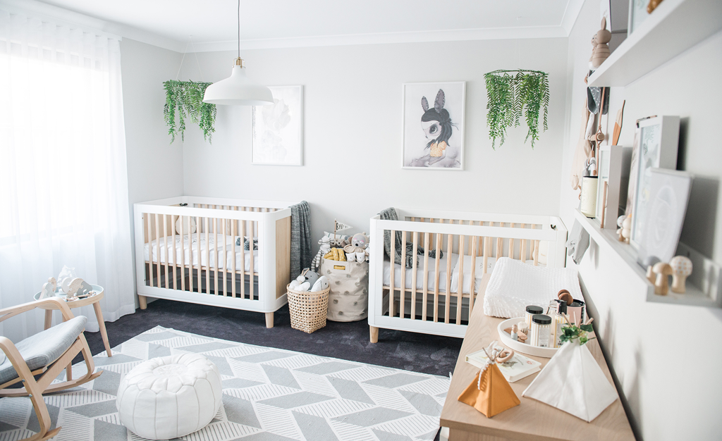 Minimalist Playroom Inspiration