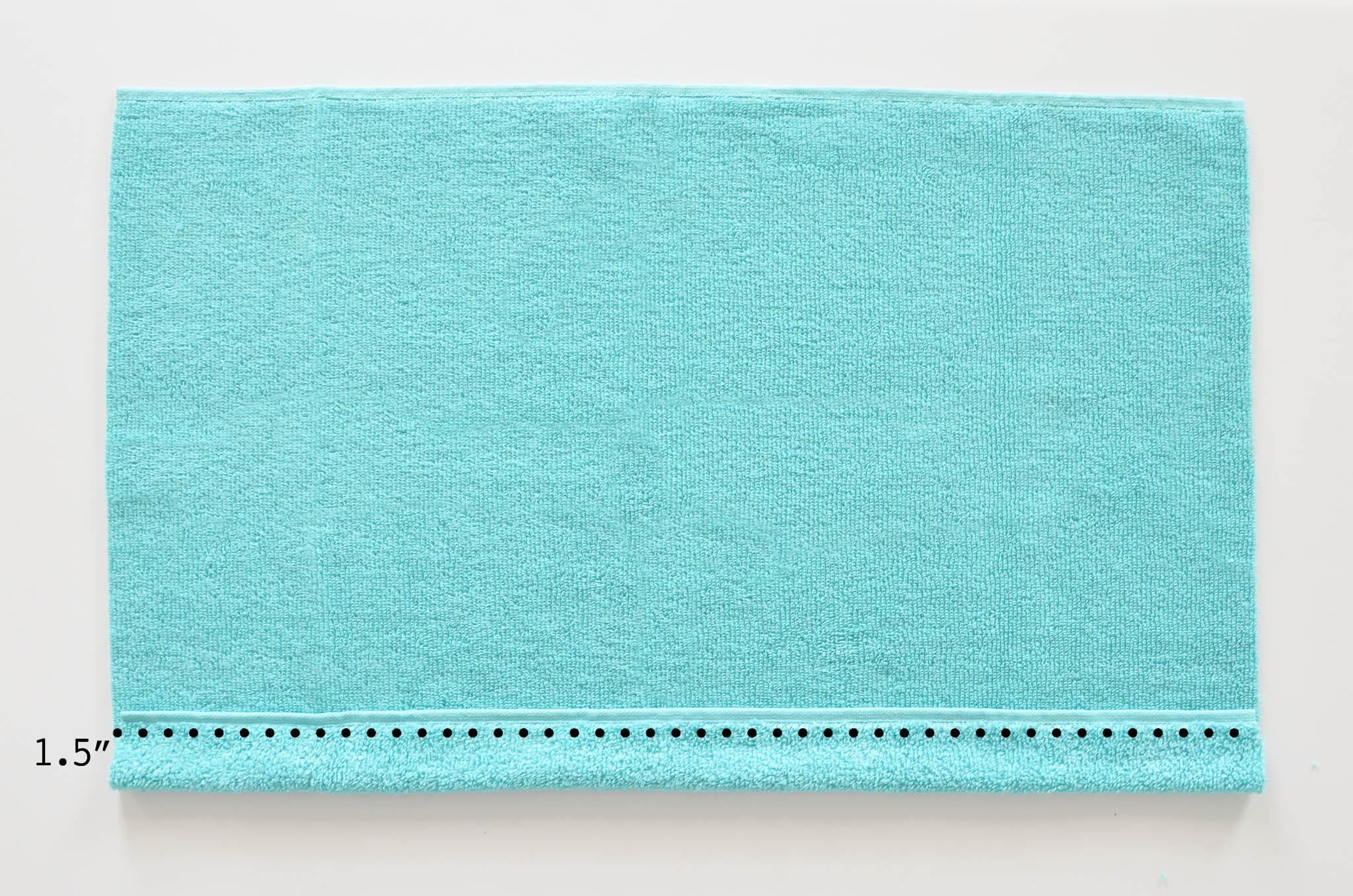 DIY Hooded Towel Tutorial - Project Nursery