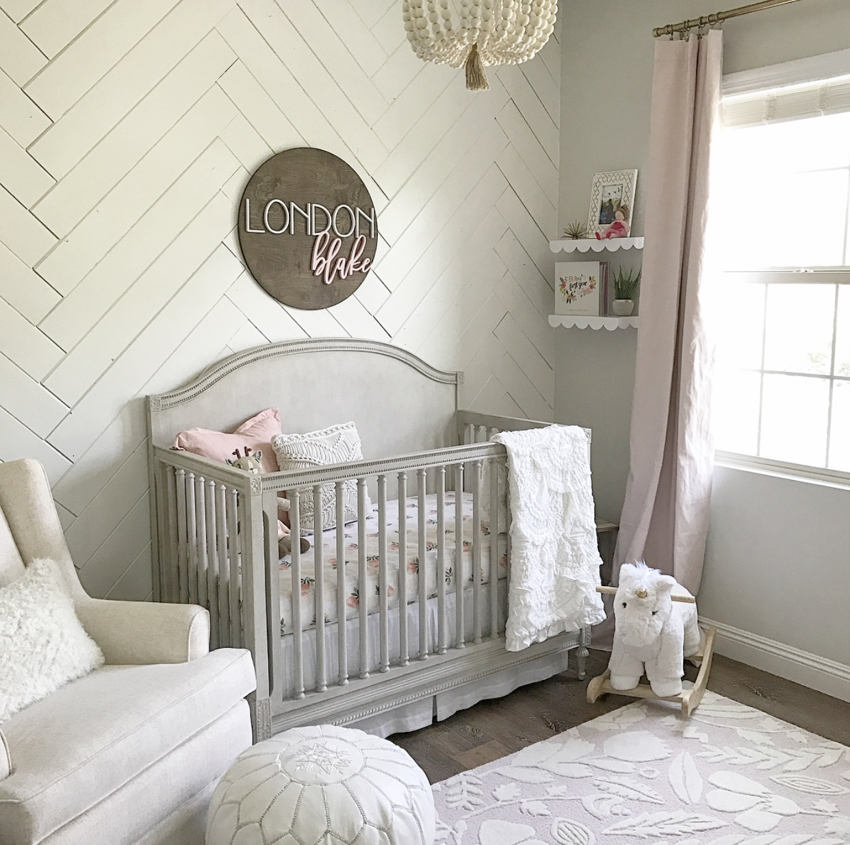 Sweet Baby Girl Nursery Project Nursery