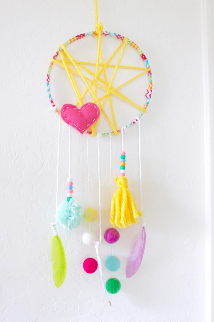 Kids Craft Dreamcatcher DIY