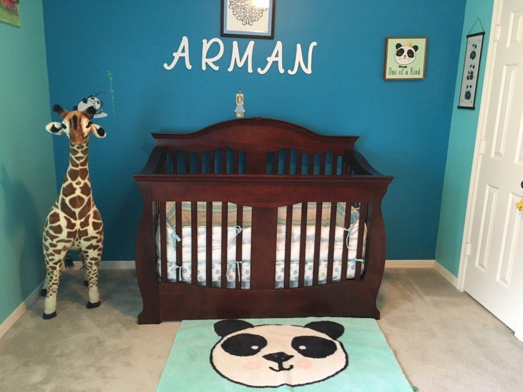 Panda Theme Nursery Project Nursery
