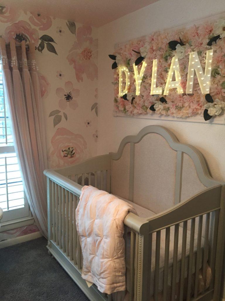 Baby Bedroom Plaques: Ethereal Nursery