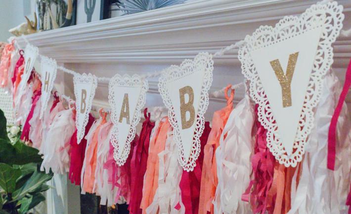 Oh Baby Birthday Banner