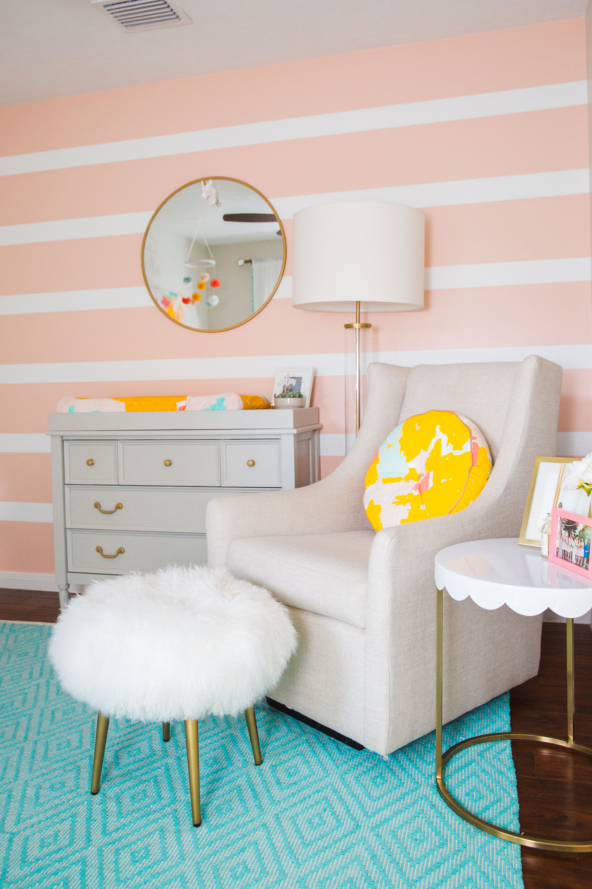 Colorful and Playful Oh Joy! Inspired Nursery