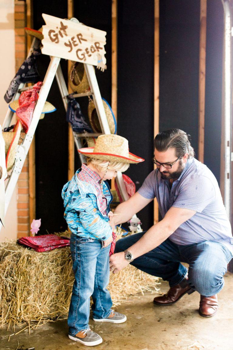 Barnyard Birthday Party - Project Nursery