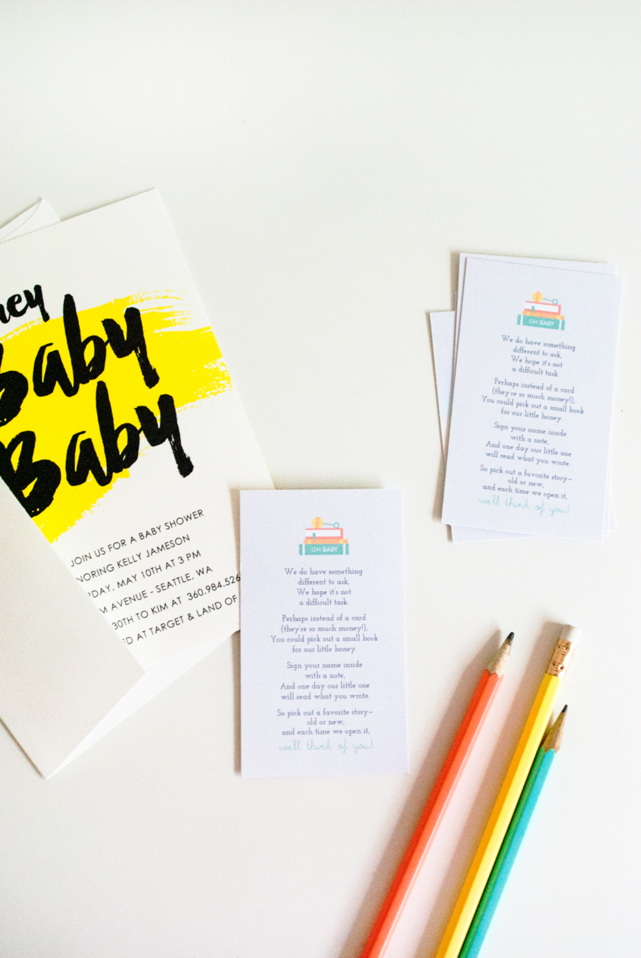 Baby Shower Tip How to Kick f Baby s First Library FREE