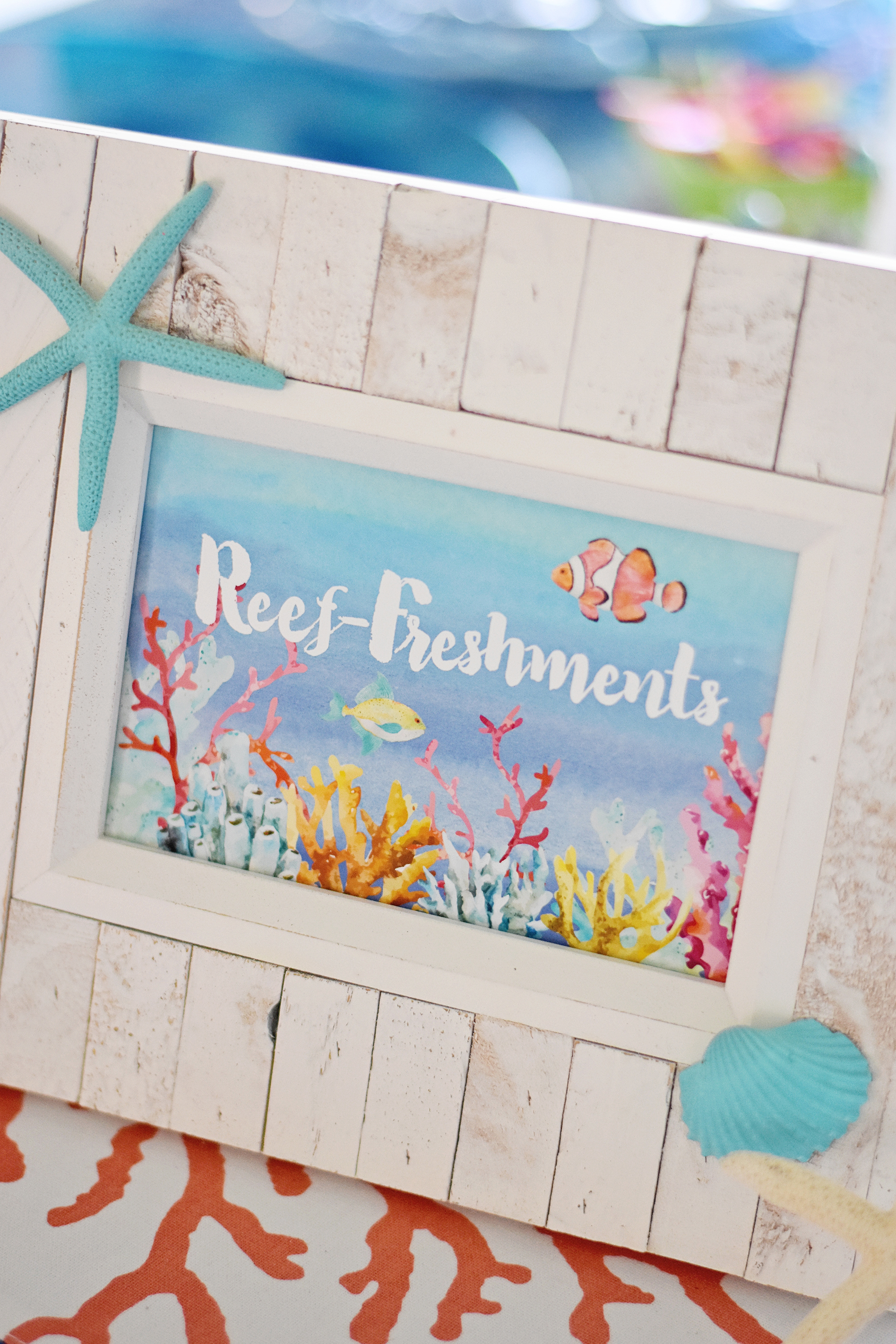 Under the Sea Birthday Party Printable Party Signage