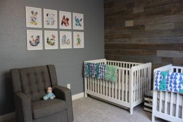 Modern Disney Twin Nursery