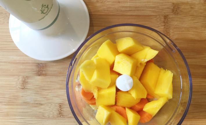 Mango Orange and Carrot Baby Food Recipe