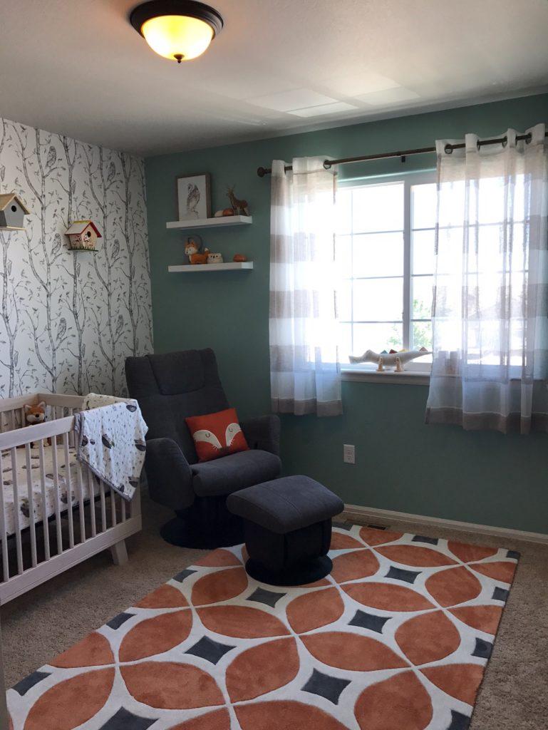 Woodland Gender Neutral Nursery Project Nursery