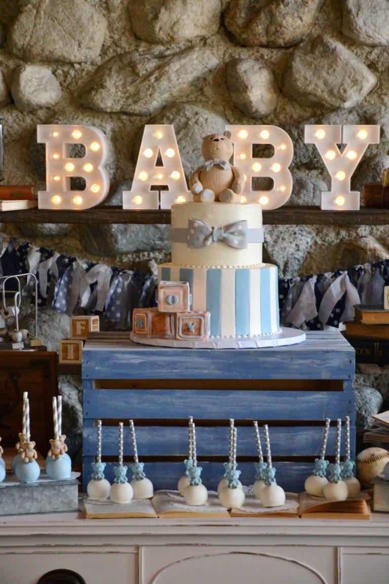 Vintage Boy Baby Shower - Project Nursery