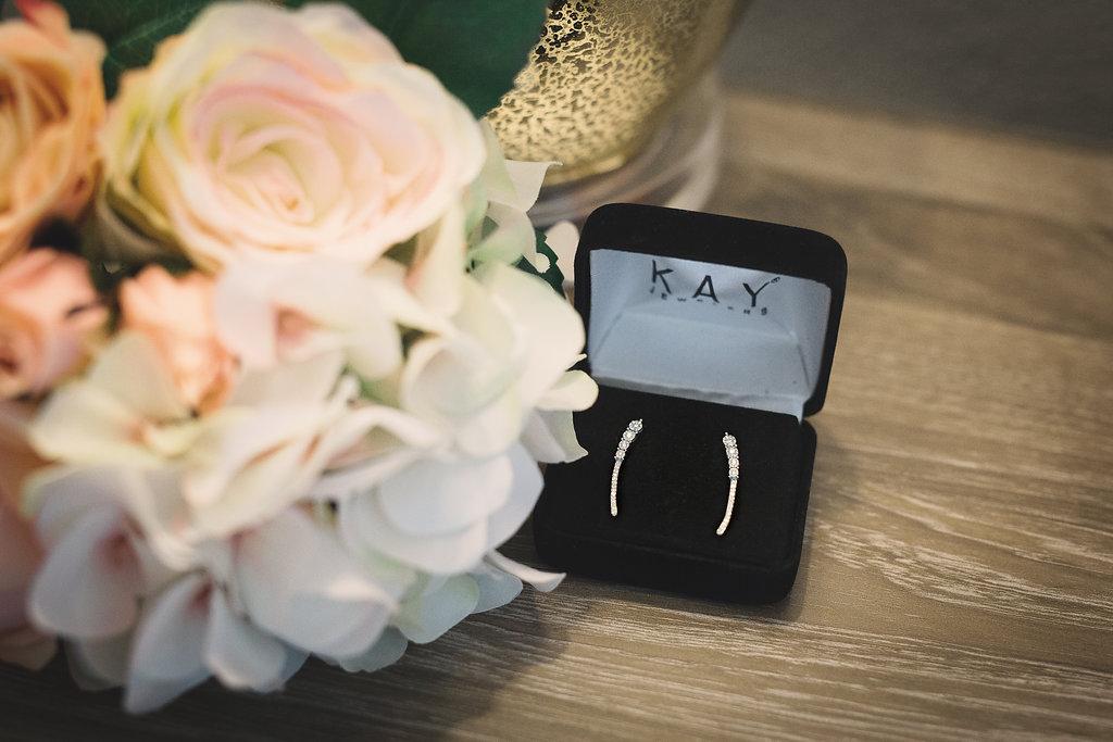 Diamond Earring Climbers from Kay Jewelers
