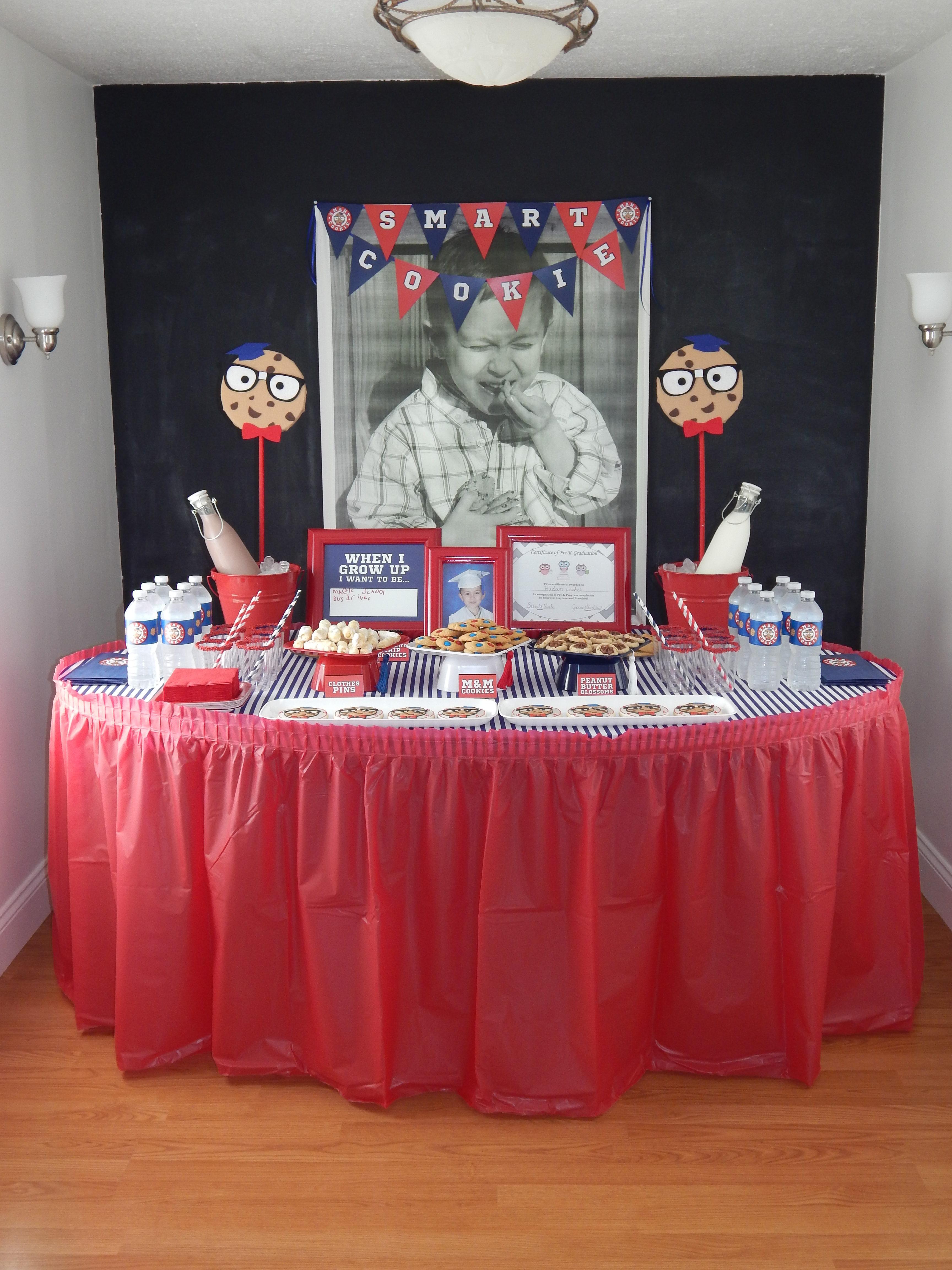 smart cookie - preschool graduation party