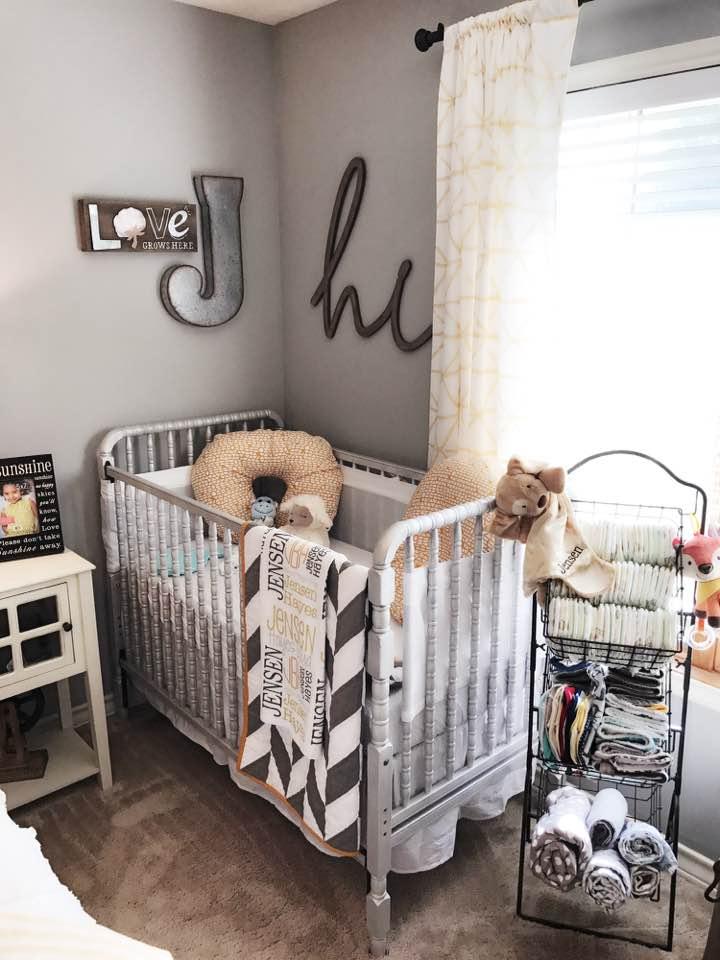 Farmhouse Styled Nursery Guest Room Combo Project Nursery