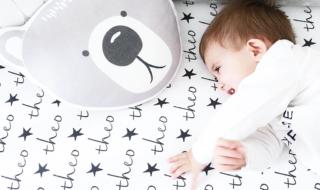 Personalized Crib Sheet