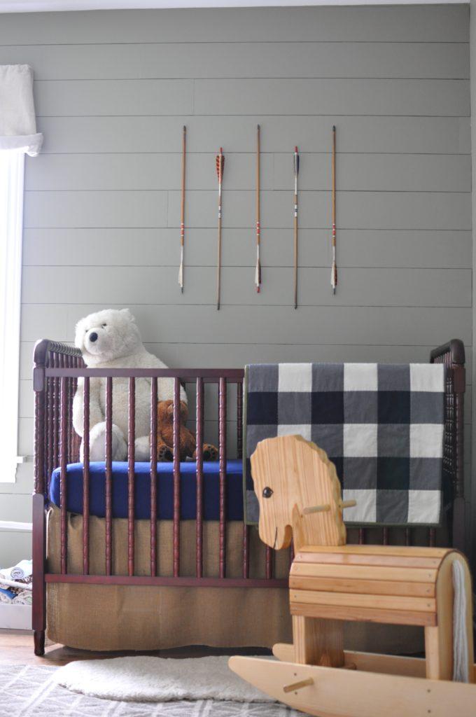 Little Scout's Camping Nursery - Project Nursery