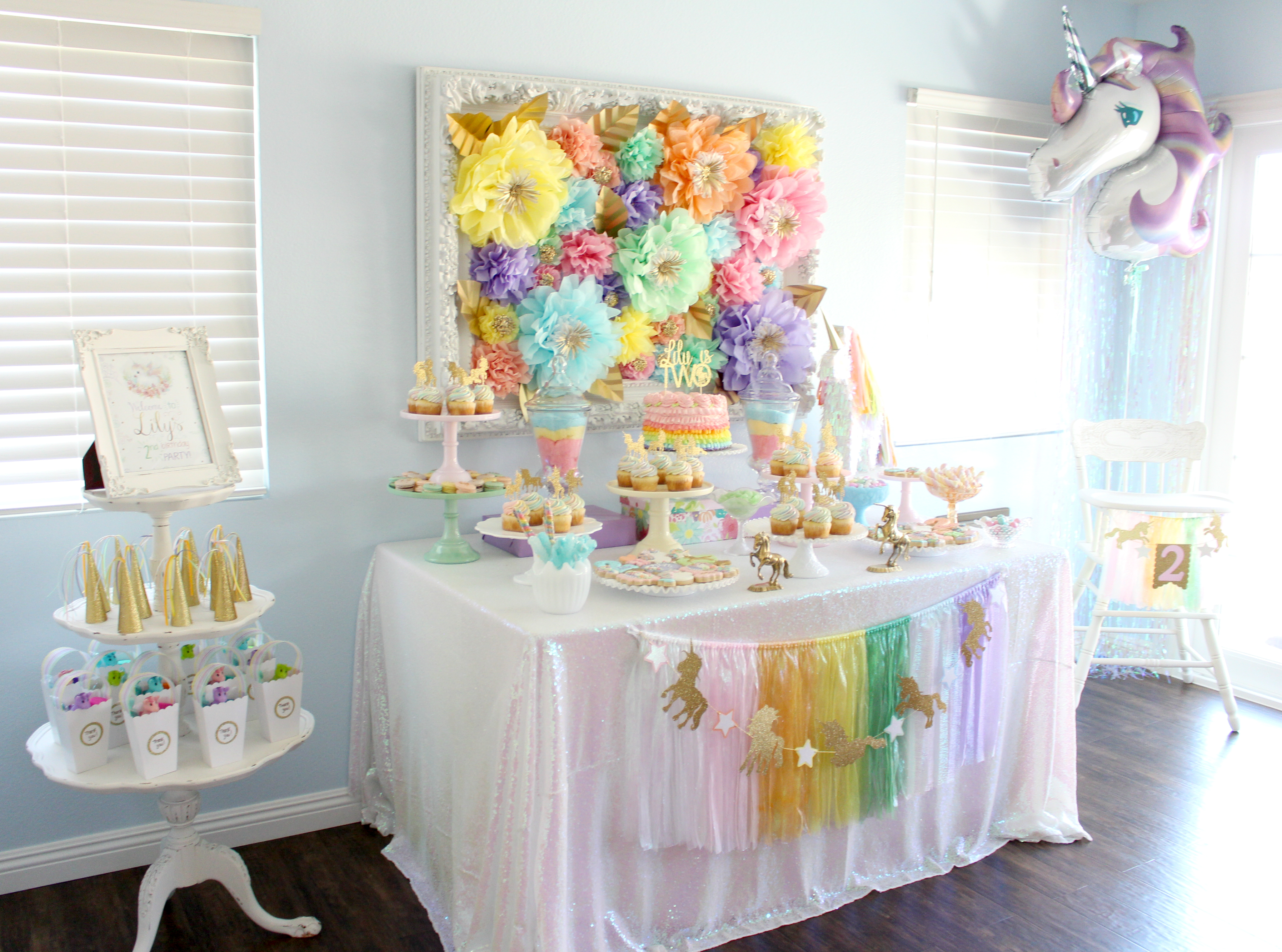 Pastel Iridescent Unicorn Party Project Nursery