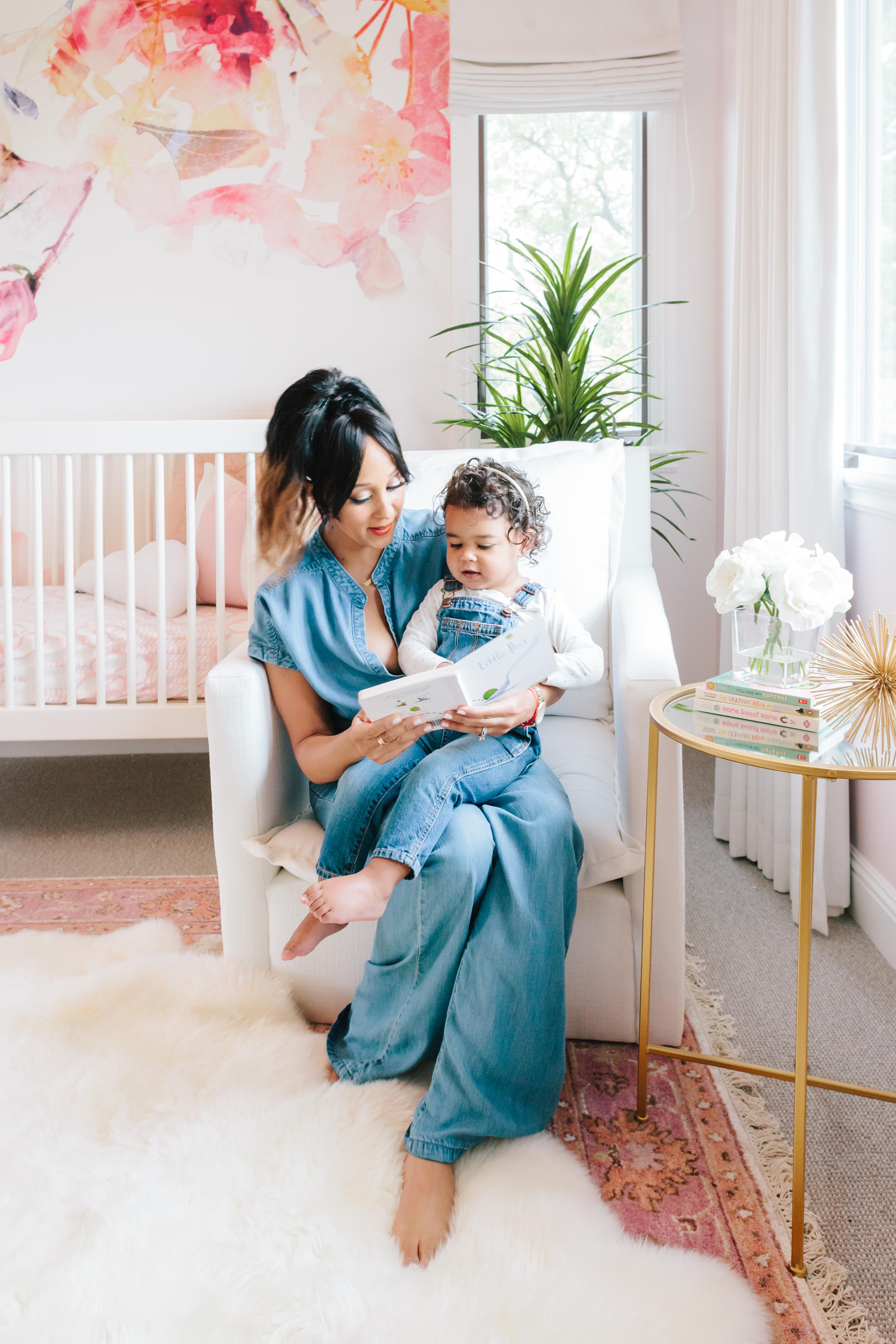 Celebrity Design Reveal Tamera Mowry S Nursery Project