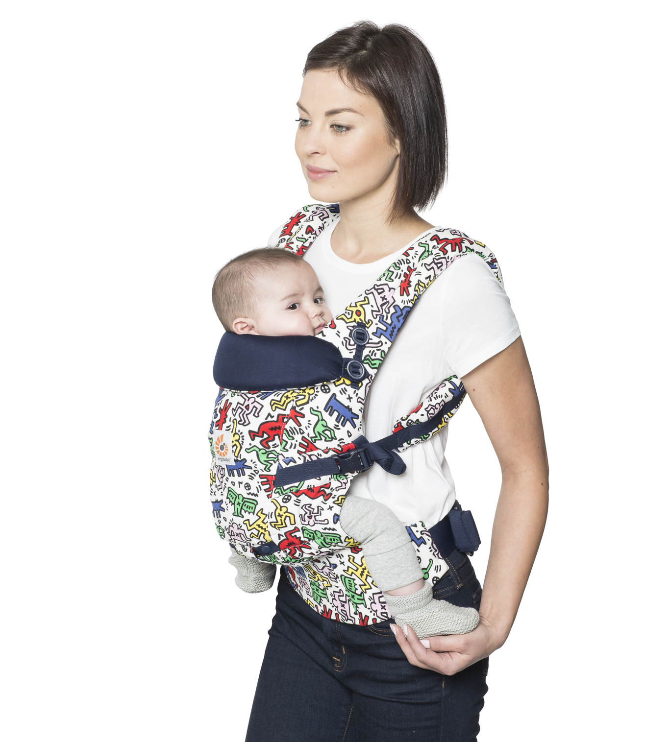 Keith Haring for Ergobaby - Adapt Carrier in Pop