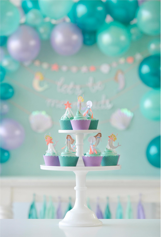 Cute Mermaid Cupcakes Project Nursery