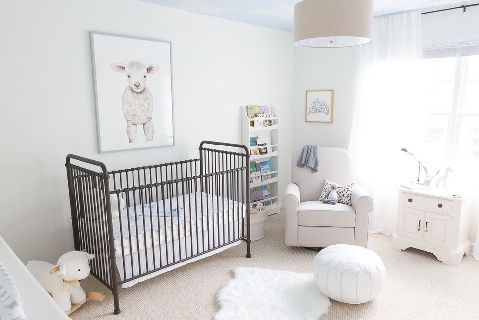 Neutral Nursery with Sheep- Project Nursery