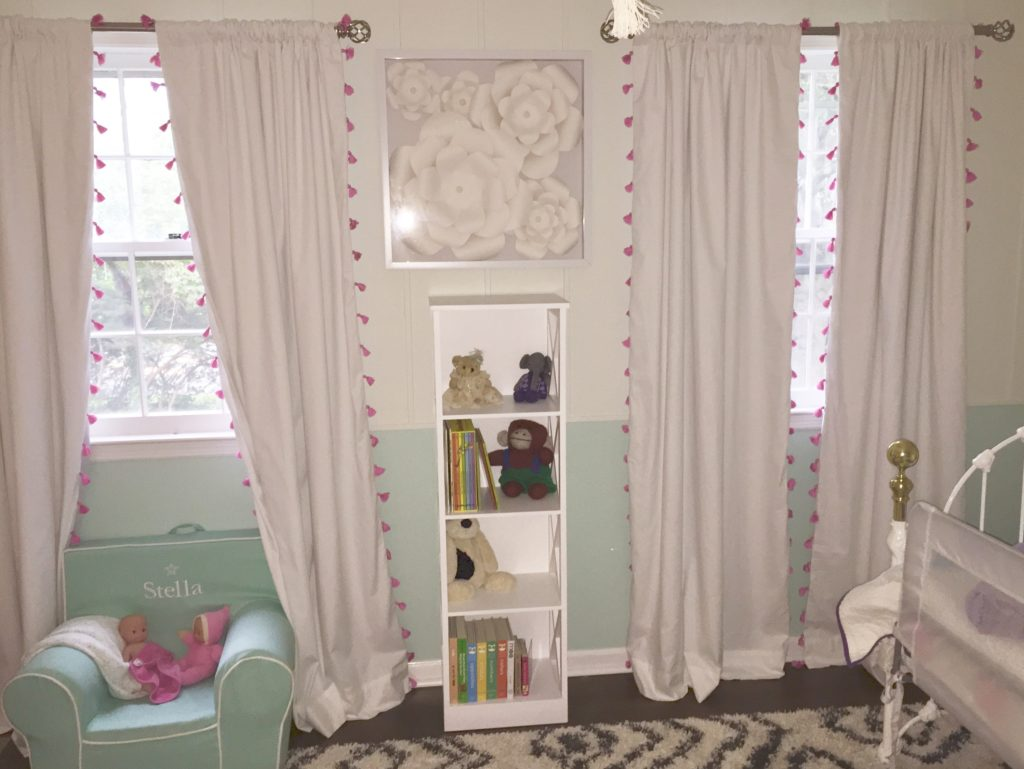 "Stella's ""Big Girl"" Room bookshelves"