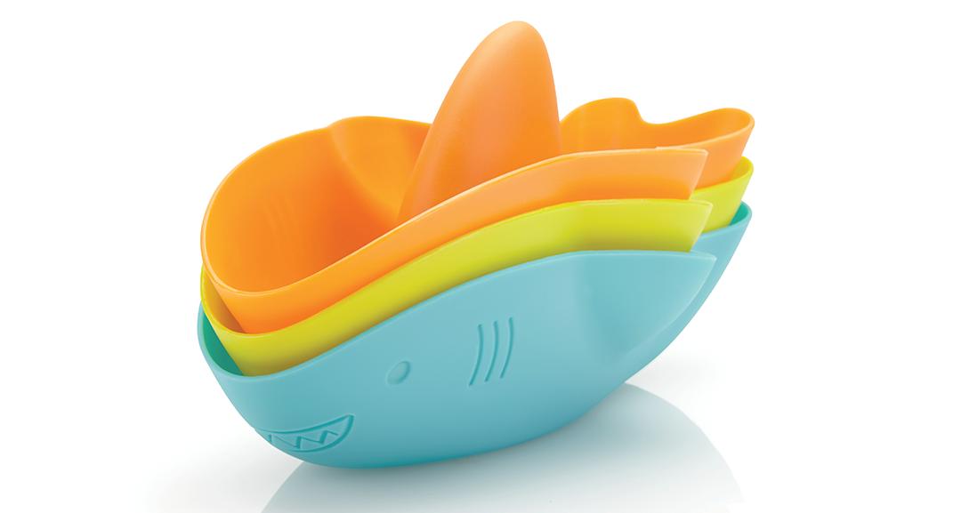 Stack and Splash Bath Toys
