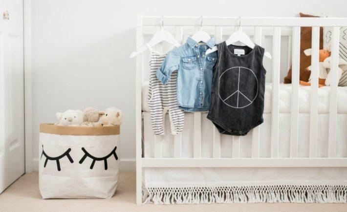 Modern Neutral Nursery with Bohemian Details - Project Nursery