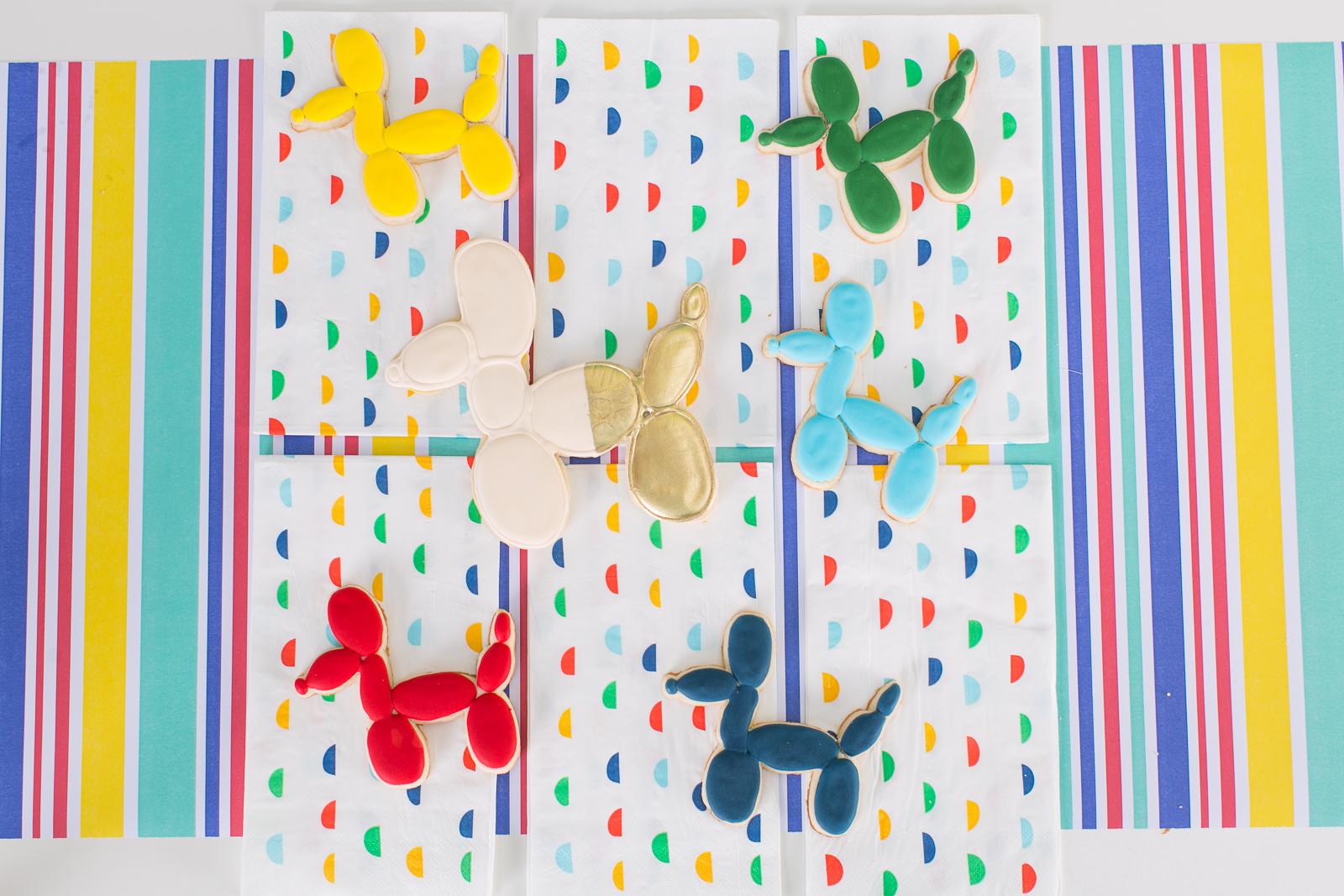 Balloon Animal Cookies